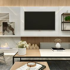 4 tips to successfully decorate your living room painel de tv New Living Room, Home And Living, Living Room Decor, Decor Interior Design, Furniture Design, Furniture Removal, Home Theater Tv, Tv Wall Decor, Tv Wall Design