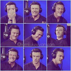 """15 Likes, 1 Comments - I Am Luke Evans Fan (@iamlukeevansfan) on Instagram: """"When I took screenshots of this video,I could not even stop laughing at his reaction! Such a…"""""""