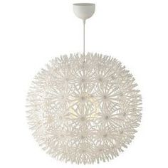 contemporary pendant lighting by IKEA    just saw this used in an event tent