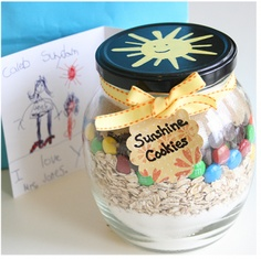 Dry mixes in jars are classic. Besides being a great way to store mixes they also make very fun gifts.