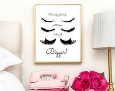 lashes printable lashes wall art digital by IKnowimPerfectPrints