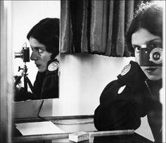 Ilse Bing Self Portrait in Mirrors 1931
