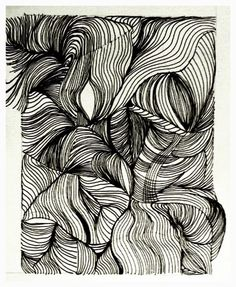 Line Drawing by Gayle. India ink.