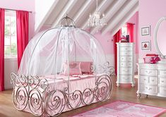 If You Can't Stay in Disney World's Cinderella Suite, Can You Afford a Disney Princess Bedroom? (article - prices for Disney Princess furniture)
