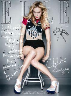 Elle Magazine, April 2010