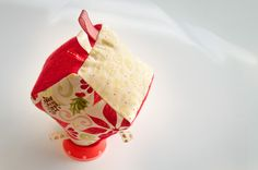 Fabric Baby Cube - Christmas Special Ed from ABCs - Adorable Baby Cubes by DaWanda.com