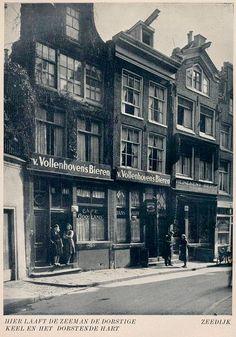 1940's. Cafe Gooiland at number 43 on the Zeedijk in Amsterdam. Photo Jaap Doeser #amsterdam #1940 #zeedijk