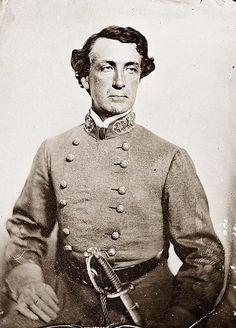 Civil War Confederate Generals | General Martin L. Smith, CSA, Florida, clean shaven men