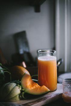 Melon Agua Fresca by Eva Kosmas Flores | Adventures in Cooking