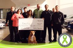 https://flic.kr/p/tmUwnu | Famous Fido - #ChooseYourCharity 5-2015 | April 2015 #ChooseYourCharity winner Famous Fido claims their 2nd win of 2015 with another $500 donation.