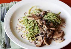 From Emma's Food Coma Blog. Arugula Pesto Pasta