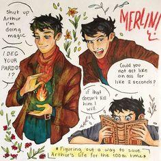 Merlin Funny, Merlin Memes, Merlin 2, Merlin Show, Merlin Fandom, Merlin And Arthur, Bbc, Merlin Colin Morgan, Sherlock