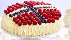 Bilderesultater for kaker Baking And Pastry, Cake Boss, White Chocolate, Allergies, Tart, Raspberry, Cheesecake, Peach, Sweets