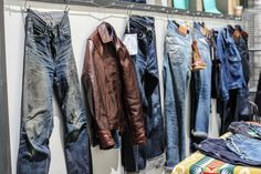 How We Made Denimhunters Tangible With Worn Denim At Bread & Butter Denim Style, Most Popular, Vintage Denim, Denim Fashion, Showroom, Blue Jeans, Therapy, Bomber Jacket, Butter