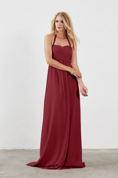 Shop Weddington Way Bridesmaid Dress - Chloe in Poly Chiffon at Weddington Way. Find the perfect made-to-order bridesmaid dresses for your bridal party in your favorite color, style and fabric at Weddington Way.
