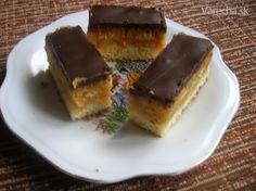Jaffa koláč - recept   Varecha.sk Russian Recipes, Ale, French Toast, Cheesecake, Breakfast, Sweet, Desserts, Polish, Food