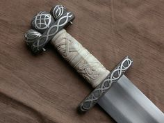 Viking style sword made by Jeff Helmes - rather beautiful!!