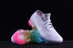Nike Air Vapormax Flyknit Betrue Multicolor White - $66.99 | nike and adidas sports shoes online store | Scoop.it Nike Shoes Uk, Nike Shoes Online, Nike Shoes Cheap