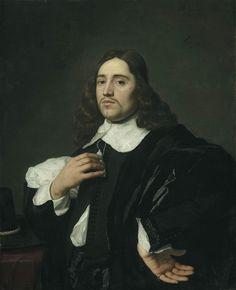 Portrait of a young man, Bartholomeus van der Helst, oil on canvas, 1654. Detroit Institute of Arts accession no. 25.216