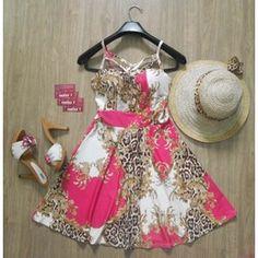 Vestido Rodado Oriental