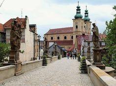 Kłodzko - gotycki most św. Jana. Poland