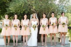 Top 7 Lace Bridesmaid Dresses for Spring Wedding 2014 | http://www.vponsalewedding.co.uk/top-7-lace-bridesmaid-dresses-for-spring-wedding-2014/