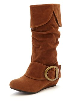 Girls Buckle Boot