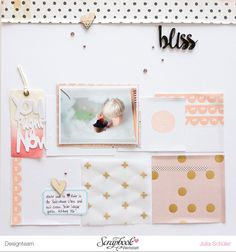 #papercrafting #scrapbook #layout - You right now layout - little everyday moments: August Sketch