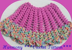 HARMONY GIRLS CROCHET PONCHO **PATTERN**