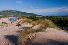 Playa de Bolonia, Tarifa (Cádiz), by @cntraveler Costa, Housing Works, Iberian Peninsula, Cadiz, Medieval Castle, Andalucia, Prado, Capital City, Geography