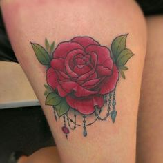Rose i tattooed today :)  Sophie.adamson@ hotmail.co.uk #tattoo #rose