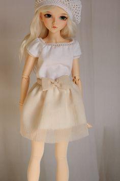 Skirt for Minifee, Narae, BJD MSD 1/4 size