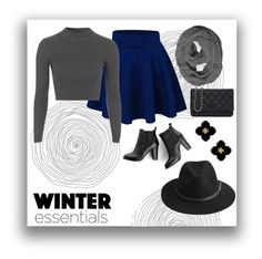 """""""winter essentials"""" by the-fashion-baby ❤ liked on Polyvore featuring Topshop, SWEET MANGO, Chanel, Tory Burch and BeckSöndergaard"""