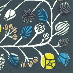 【楽天市場】marimekko マリメッコ 可愛い 4つ折りペーパーナプキン☆KRANSSI grey☆(20枚入り):Pippy 楽天市場店