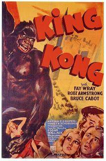 Carteles del cinema: 1933 - KING KONG - King Kong - Ernst B. Schoedsack, Merian C. Cooper