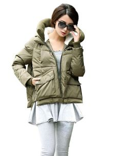 Kattee Women's Thicken Hooded Down Jacket Warm Winter Coat (Asia Large, Army Green) Kattee http://www.amazon.com/gp/product/B00HNLOE0Q/ref=as_li_tl?ie=UTF8&camp=1789&creative=390957&creativeASIN=B00HNLOE0Q&linkCode=as2&tag=shikoal-20&linkId=XI5MGC5HLEMQEK5J