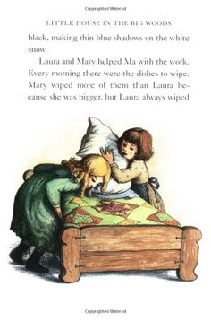 Little House in the Big Woods: Laura Ingalls Wilder, Garth Williams:. Laura Ingalls Wilder, Children's Book Illustration, Book Illustrations, Storyboard Drawing, Laura Rose, Ingalls Family, Garth Williams, Inspirational Books, Old Tv