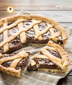 crostata con la nutella che rimane morbida Sweets Recipes, Fun Desserts, Real Food Recipes, Cake Recipes, Cooking Cake, Vegan Kitchen, Pie Cake, How Sweet Eats, Bakery