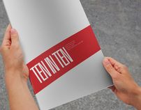 Ten In Ten by Travis Neilson, via Behance