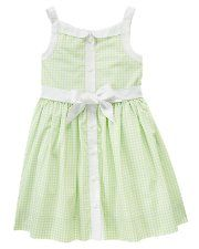 Chloes Easter dress for this year! So cute and comfy for church and easter egg hunting in the hot southern sun!