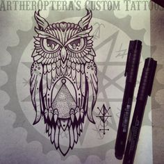 for next weeks appointment. its never enough of owls.