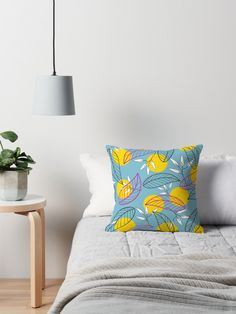"""Playful Mood"" throw pillow.  #homedecor #home"