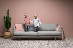 Hakola Lazy. Annaleena Hämäläinen. Sofa, Couch, Home Living Room, New Homes, Colours, Interior, Lazy, Furniture, Design