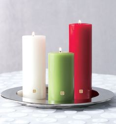 Never too early to stock up on holiday essentials! Holiday charm silver 3-wick holder $5