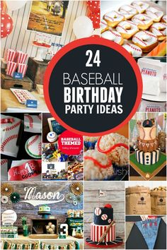24 Baseball Birthday Party Ideas - Spaceships and Laser Beams
