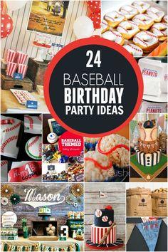 24 Baseball Birthday Party Ideas - Spaceships and Laser Beams