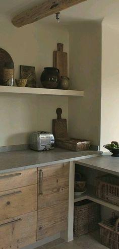 Ideas y estilo. Concrete kitchen