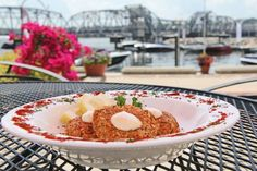 Crab Cakes from Stone Harbor Restaurant & Pub  http://www.doorcounty.com/newsletter/2013/08/crab-cakes-from-scratch/