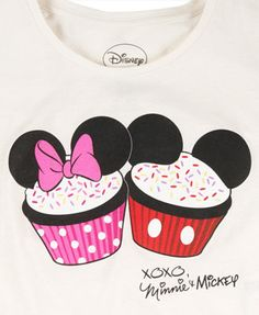 Mickey and Minnie for disney world this summer! Disney Cupcakes, Cute Cupcakes, Mickey Love, Kids Outfits, Cute Outfits, Disney Planning, All I Ever Wanted, Disney Scrapbook, Work Inspiration