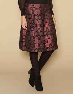 Babushka Jacquard Skirt